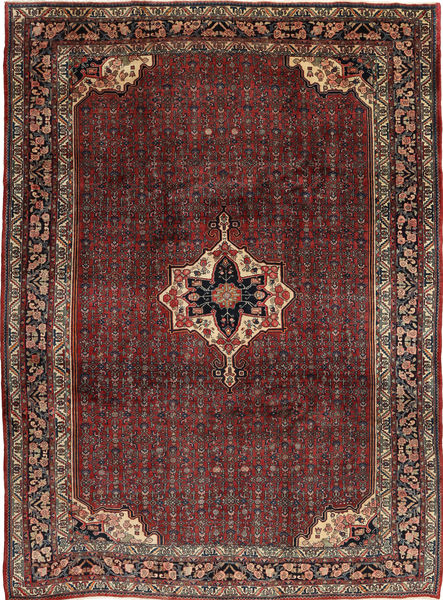 Bidjar Rug 257X355 Authentic  Oriental Handknotted Dark Red/Dark Brown Large (Wool, Persia/Iran)
