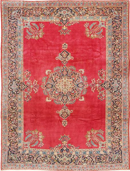 Keshan Matto 247X330 Itämainen Käsinsolmittu Vaaleanruskea/Punainen (Villa, Persia/Iran)