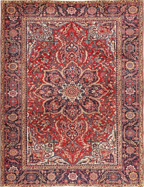 Heriz Rug 266X345 Authentic  Oriental Handknotted Dark Red/Dark Brown Large (Wool, Persia/Iran)