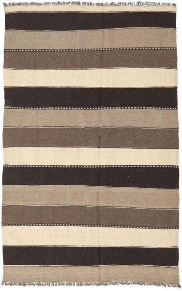 Kilim Rug 132X205 Authentic  Oriental Handwoven Light Grey/Dark Grey (Wool, Persia/Iran)