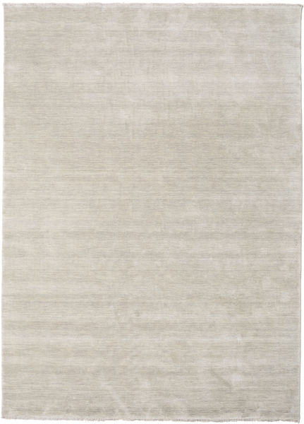 Handloom Fringes - Greige Rug 300X400 Modern Light Grey Large (Wool, India)