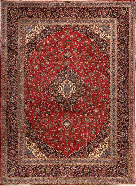 Keshan Matto 298X404 Itämainen Käsinsolmittu Tummanpunainen/Ruskea Isot (Villa, Persia/Iran)