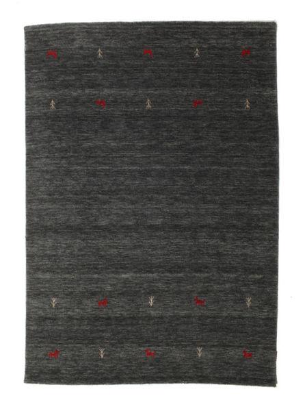 Gabbeh Loom Two Lines - Medium Szary Dywan 160X230 Nowoczesny Ciemnoszary (Wełna, Indie)