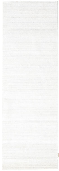 Bambou Soie Loom - Beige Tapis 80X300 Moderne Tapis Couloir Beige/Blanc/Crème ( Inde)