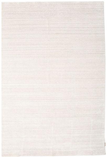 Bamboo Hedvábí Loom - Béžová Koberec 200X300 Moderní Bílý/Krém/Béžová ( Indie)