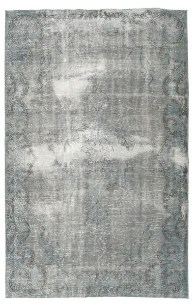 Colored Vintage Rug 170X269 Authentic  Modern Handknotted Light Grey/Dark Grey (Wool, Turkey)