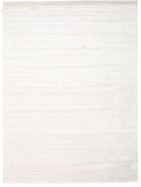Μπαμπού Μετάξι Loom - Μπεζ Χαλι 300X400 Σύγχρονα Λευκό/Κρεμ/Μπεζ Μεγαλα ( Ινδικά)