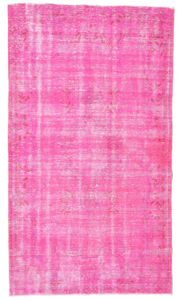 Colored Vintage Rug 173X298 Authentic  Modern Handknotted Light Pink/Pink (Wool, Turkey)