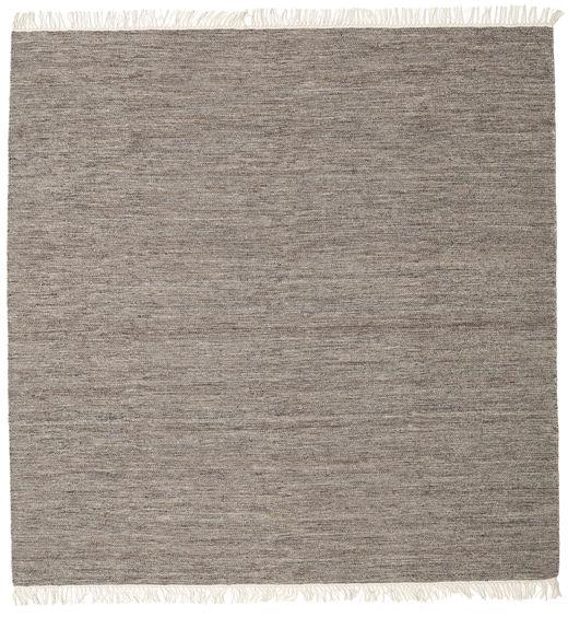Melange - Brown Rug 300X300 Authentic  Modern Handwoven Square Light Grey/Dark Grey Large (Wool, India)