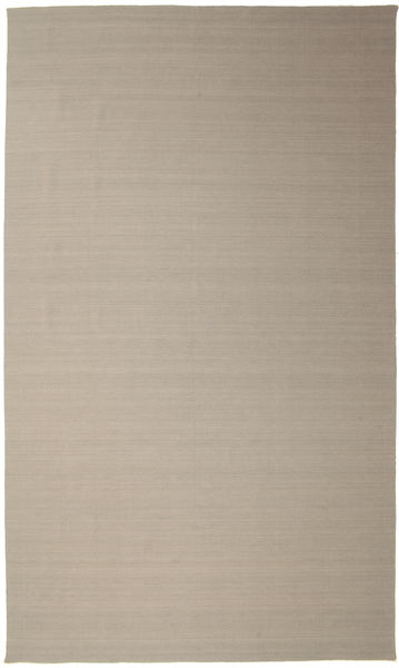 キリム ルーム - 薄い灰色/ベージュ 絨毯 400X600 モダン 手織り 薄茶色 大きな (ウール, インド)