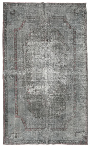 Colored Vintage Rug 178X300 Authentic  Modern Handknotted Dark Grey/Light Grey (Wool, Turkey)