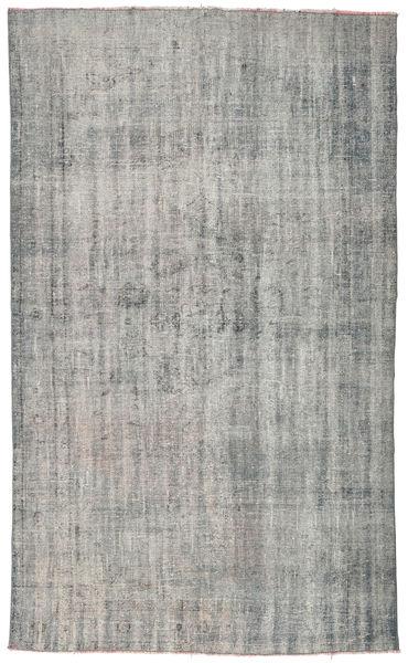 Colored Vintage Rug 170X284 Authentic  Modern Handknotted Light Grey/Dark Grey (Wool, Turkey)
