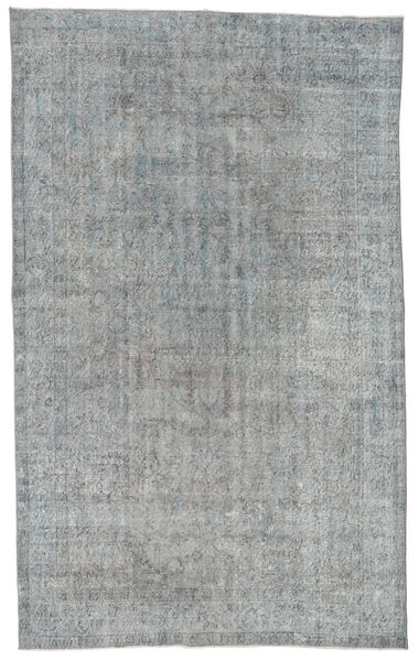 Colored Vintage Rug 181X297 Authentic  Modern Handknotted Light Grey/Dark Grey (Wool, Turkey)