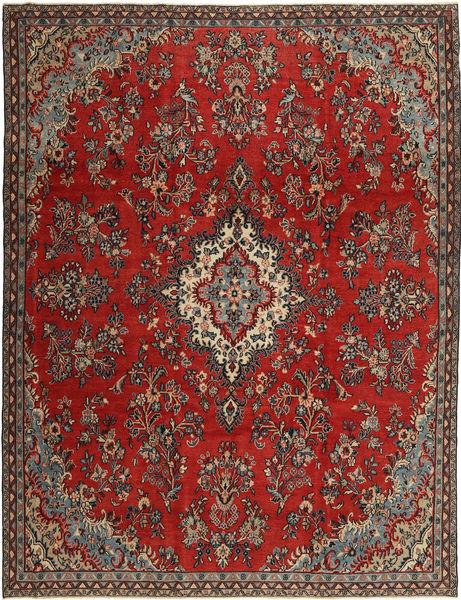 Hamadan Patina Matto 252X335 Itämainen Käsinsolmittu Tummanruskea/Ruskea Isot (Villa, Persia/Iran)
