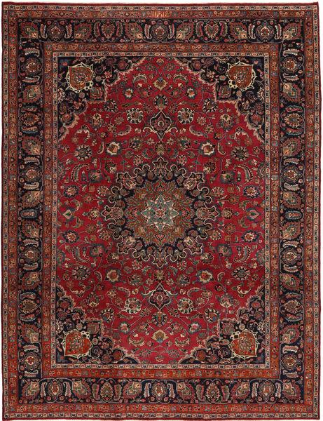 Rashad Patina Signerad: Dadkhah Matta 247X327 Äkta Orientalisk Handknuten Mörkröd/Mörkbrun (Ull, Persien/Iran)