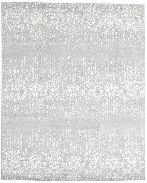 Himalaya Tapete 245X305 Moderno Feito A Mão Bege/Branco/Creme (Lã/Bamboo Seda, Índia)