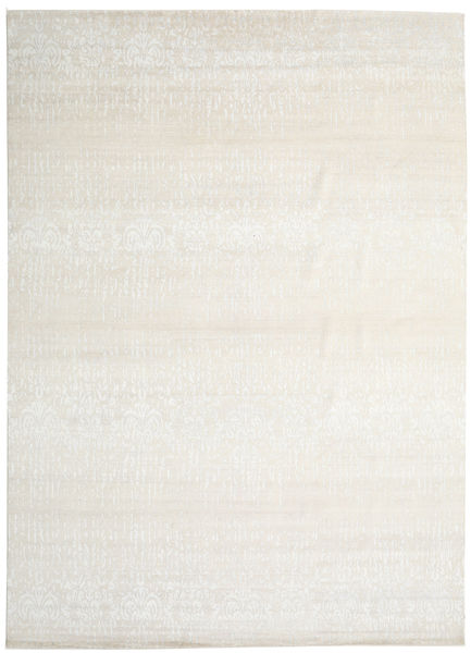 Himalaya Rug 303X421 Authentic  Modern Handknotted Beige/Dark Beige/Light Grey Large (Wool/Bamboo Silk, India)