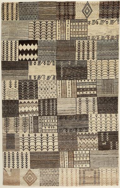Lori Baft Persia Tappeto 115X185 Moderno Fatto A Mano Marrone Chiaro/Grigio Scuro (Lana, Persia/Iran)