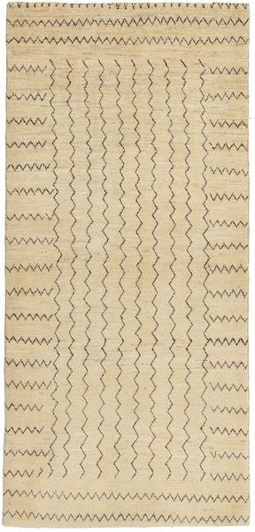 Lori Baft Persia Matto 81X176 Moderni Käsinsolmittu Tummanbeige/Vaaleanruskea (Villa, Persia/Iran)