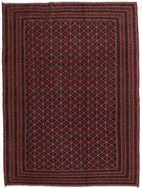 Kilim Golbarjasta Rug 206X273 Authentic  Oriental Handwoven Dark Brown/Dark Red (Wool, Afghanistan)
