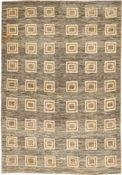 ロリ Baft ペルシャ 絨毯 110X156 モダン 手織り 薄い灰色/薄茶色 (ウール, ペルシャ/イラン)