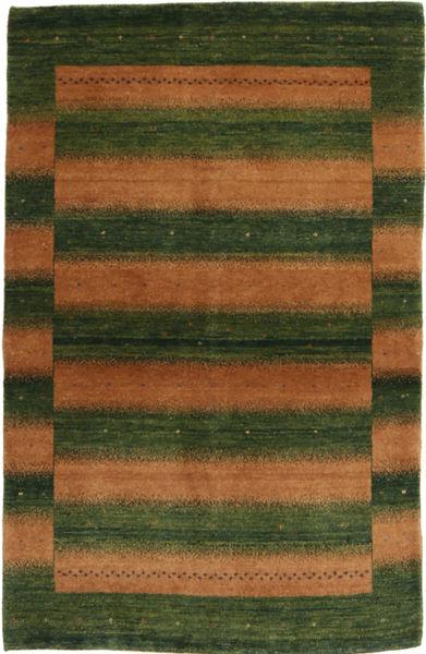 Lori Baft Persia Teppe 96X148 Ekte Moderne Håndknyttet Mørk Grønn/Brun (Ull, Persia/Iran)