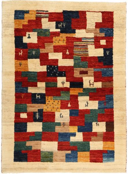 Lori Baft Persia Matto 102X142 Moderni Käsinsolmittu Tummanbeige/Beige (Villa, Persia/Iran)