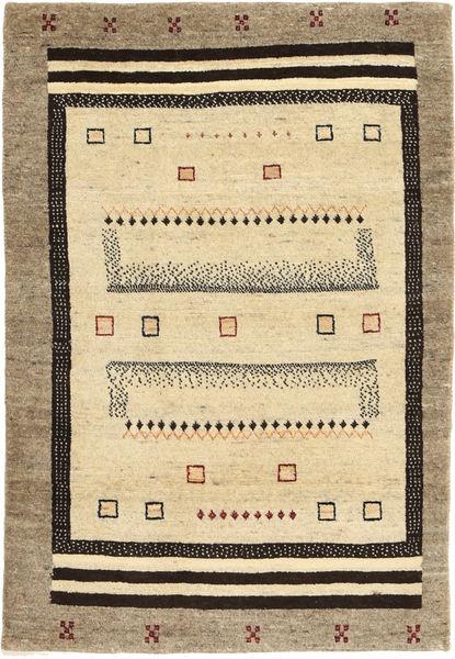Lori Baft Persia Matto 82X125 Moderni Käsinsolmittu Vaaleanruskea/Beige/Keltainen (Villa, Persia/Iran)