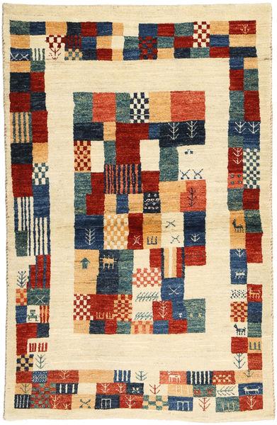 Lori Baft Persia Matto 82X136 Moderni Käsinsolmittu Beige/Tummansininen (Villa, Persia/Iran)
