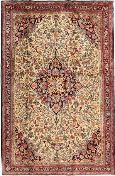 ビジャー 絨毯 200X308 オリエンタル 手織り 薄茶色/茶 (ウール, ペルシャ/イラン)