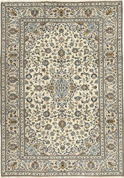 Keshan Matto 243X345 Itämainen Käsinsolmittu Beige/Tummanharmaa (Villa, Persia/Iran)
