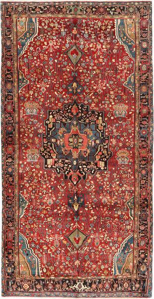Bidjar Rug 164X316 Authentic  Oriental Handknotted Brown/Dark Brown (Wool, Persia/Iran)