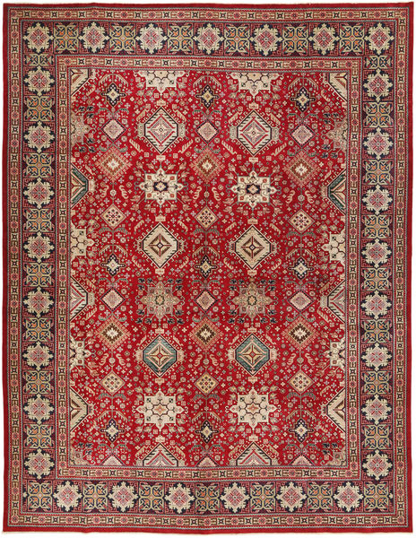 Tabriz Patina Alfombra 295X390 Oriental Hecha A Mano Marrón/Rojo Oscuro Grande (Lana, Persia/Irán)