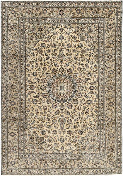 Keshan Patina Alfombra 242X350 Oriental Hecha A Mano Marrón Claro/Gris Oscuro (Lana, Persia/Irán)