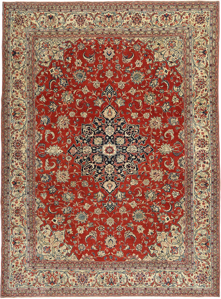 Sarouk Patina Rug 260X350 Authentic  Oriental Handknotted Dark Red/Light Brown Large (Wool, Persia/Iran)