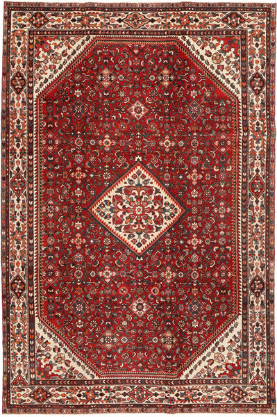 Hamadan Patina Rug 212X324 Authentic  Oriental Handknotted Dark Red/Rust Red (Wool, Persia/Iran)