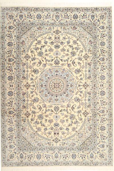 Nain 6La Habibian Matto 215X300 Itämainen Käsinsolmittu Vaaleanruskea/Beige (Villa/Silkki, Persia/Iran)