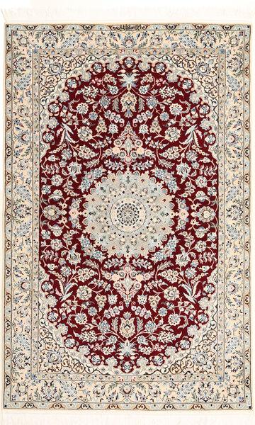 Nain 6La Habibian Matto 120X190 Itämainen Käsinsolmittu Beige/Vaaleanruskea (Villa/Silkki, Persia/Iran)