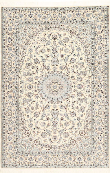 ナイン 6La Habibian 絨毯 170X260 オリエンタル 手織り ベージュ/薄茶色 (ウール/絹, ペルシャ/イラン)