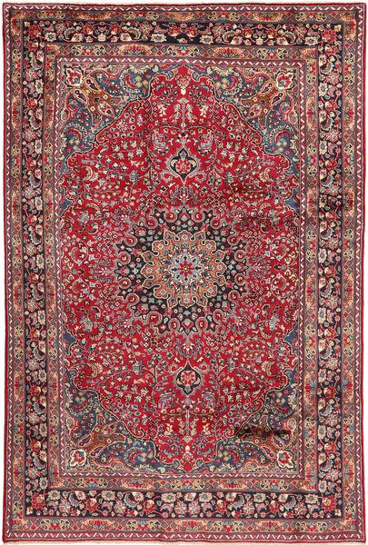 アルデビル 絨毯 186X300 オリエンタル 手織り 赤/濃い茶色 (ウール, ペルシャ/イラン)