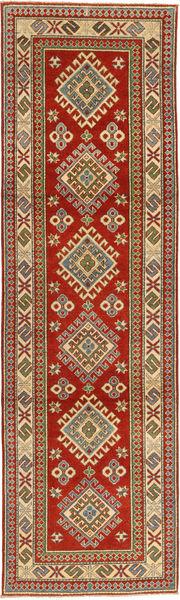 Kazak Teppich  81X292 Echter Orientalischer Handgeknüpfter Läufer Rost/Rot/Hellbraun (Wolle, Pakistan)