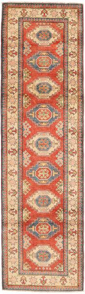 Kazak Matto 82X292 Itämainen Käsinsolmittu Käytävämatto Oranssi/Vaaleanruskea (Villa, Pakistan)