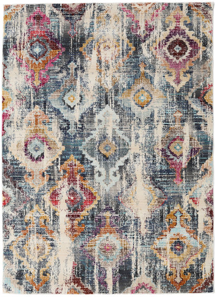 Seren Rug 142X206 Modern Light Grey/Dark Grey ( Turkey)