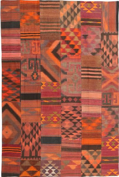 Kilim Patchwork carpet ABCX2320