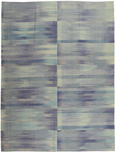 Kelim Moderni Matto 213X278 Moderni Käsinsolmittu Tummanharmaa/Vaaleanharmaa (Villa, Afganistan)