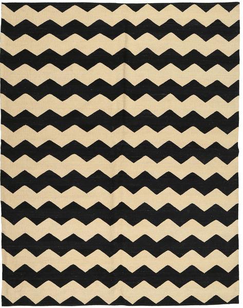 Kelim Moderni Matto 184X235 Moderni Käsinsolmittu Musta/Tummanbeige (Villa, Afganistan)