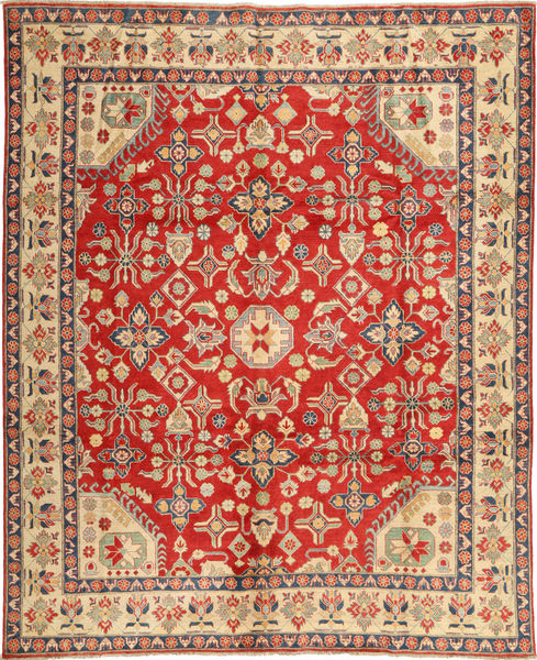 Kazak Matto 285X348 Itämainen Käsinsolmittu Ruoste/Vaaleanruskea Isot (Villa, Pakistan)
