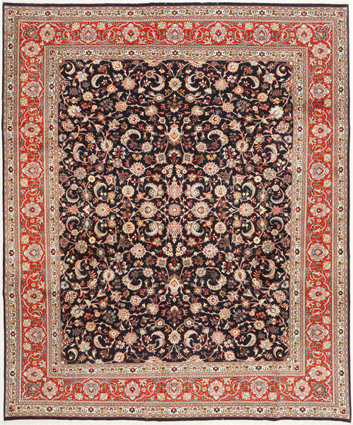 Sarouk Sherkat Farsh Rug 251X303 Authentic  Oriental Handknotted Light Brown/Dark Red Large (Wool, Persia/Iran)