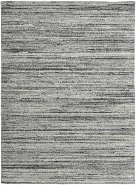 Mazic - Grey Rug 160X230 Authentic  Modern Handknotted Dark Grey/Turquoise Blue (Wool, India)