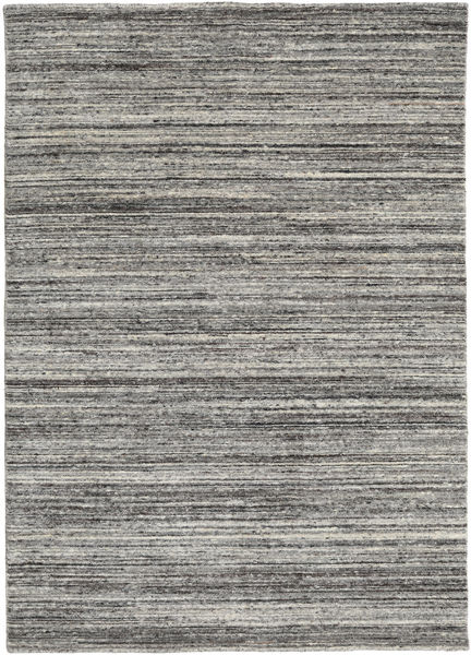 Mazic - Dark Grey Rug 160X230 Authentic  Modern Handknotted Light Grey/Dark Grey (Wool, India)